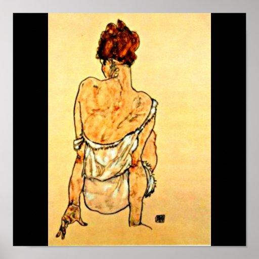 Poster-Clásico/Vintage-Egon Schiele 31 Póster