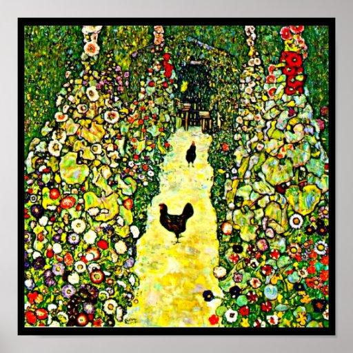 Poster-Clásico/Vintage-Gustavo Klimt 2