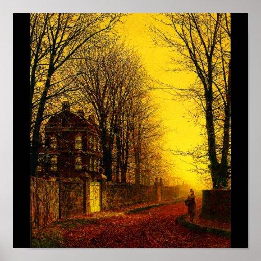 Poster-Clásico/Vintage-Juan Atkinson Grimshaw 12