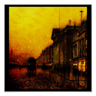 Poster-Clásico/Vintage-Juan Atkinson Grimshaw 20