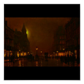Poster-Clásico/Vintage-Juan Atkinson Grimshaw 29