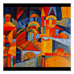 Poster-Clásico/Vintage-Paul Klee 108