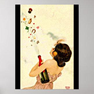 Poster-Clásico/Vintage-Raphael Kirchner 12 Póster