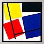 Poster-Clásico Vintage-Theo Van Doesburg 16