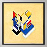 Poster-Clásico Vintage-Theo Van Doesburg 20