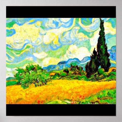 Poster-Clásico/Vintage-Van Gogh 12