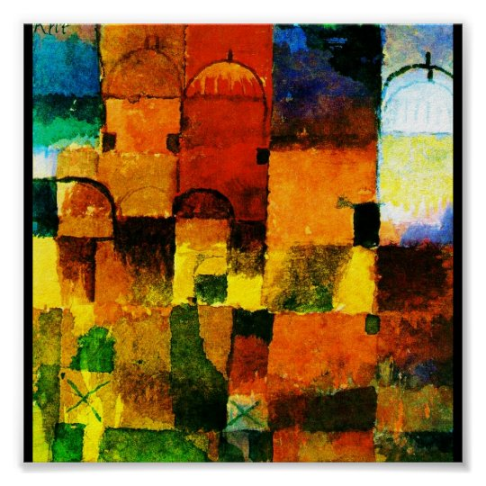 Poster-Classic Art-Klee 1 Poster