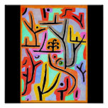 Poster-Classic Art-Klee 24