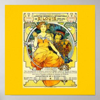 Poster-Classic Art-Mucha 20 Poster