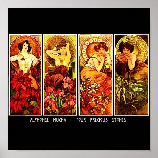Poster-Classic Art-Mucha 24 Poster