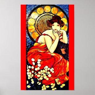 Poster-Classic/Vintage-Alphonse Mucha 110 Poster