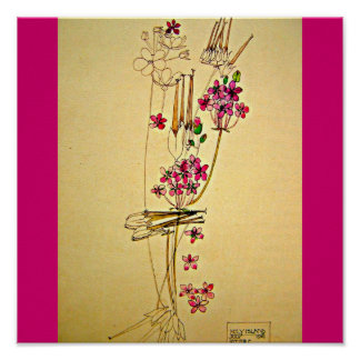 Poster-Classic/Vintage-Charles Rennie Mackintosh 3 Poster