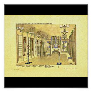 Poster-Classic/Vintage-Charles Rennie Mackintosh 8 Poster