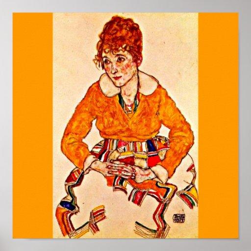 Poster-Classic/Vintage-Egon Schiele 36 Poster