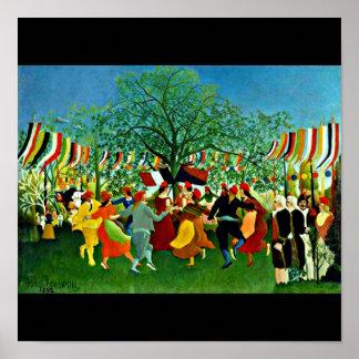 Poster-Classic/Vintage-Henri Rousseau 6 Poster
