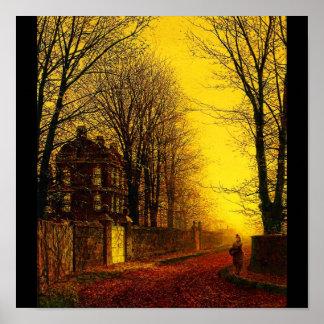 Poster-Classic/Vintage-John Atkinson Grimshaw 12 Poster