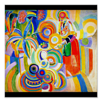 Poster-Classic Vintage-Robert Delaunay 13
