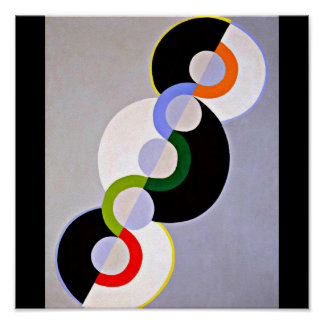 Poster-Classic/Vintage-Robert Delaunay 7 Poster