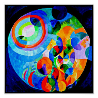 Poster-Classic/Vintage-Robert Delaunay 8 Poster