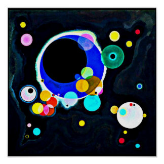 Poster-Classic/Vintage-Wassily Kandinsky 12 Poster