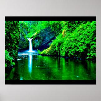 Poster-Color 102 Terapia-Verdes Póster