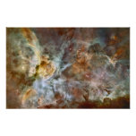 Poster colosal de la nebulosa de Carina