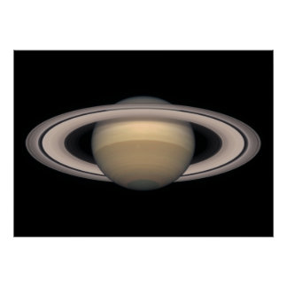 Poster colosal de Saturn - regalo del espacio y de Póster