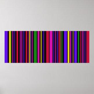 Poster colosal del arte #2 del código de barras