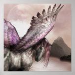 Poster con alas de Pegaso