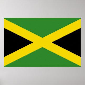 Poster con la bandera de Jamaica