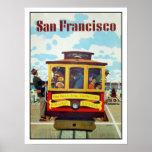 Poster con la impresión fresca de San Francisco
