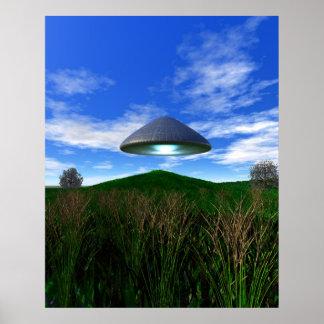 Poster cónico del UFO