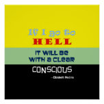 Poster consciente del ~ 24x24 del infierno