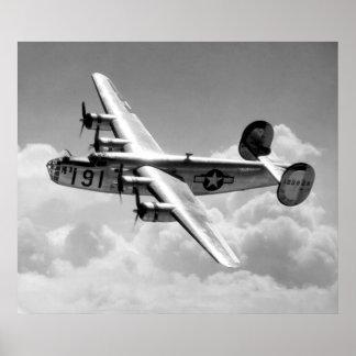 Poster consolidado del libertador B-24