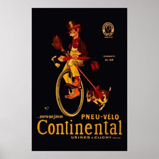 Poster continental de la reedición 36 x 24 de la b