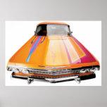 Poster convertible del Lowrider del impala de 63 C