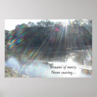 Poster: Corrientes de la misericordia nunca que ce