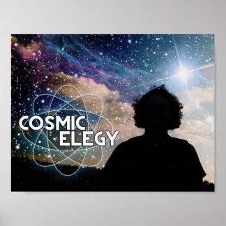 Poster cósmico del horizonte