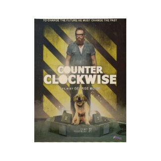 Poster: Counter Clockwise Wood Poster