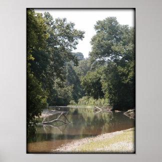 Poster - Creek