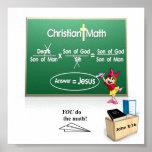 Poster cristiano de la matemáticas