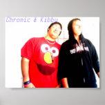 Poster crónico y de Kibby