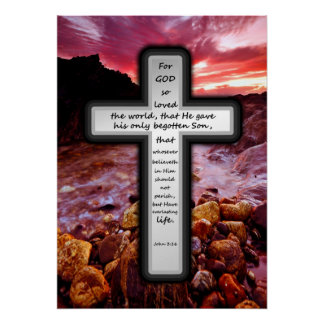 Poster cruzado - 3:16 de Juan