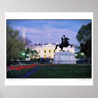 Poster cuadrado de la primavera de Lafayette de la Póster