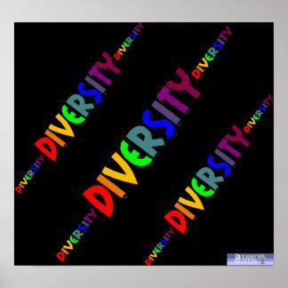 Poster cubicado diversidad triple