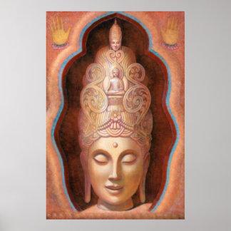 Poster curativo de la sensación de Tara de la dios