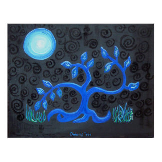 Poster - Dancing Tree