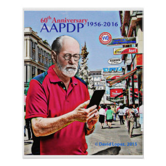 poster de 16 x 20 AAPDP Freud Póster