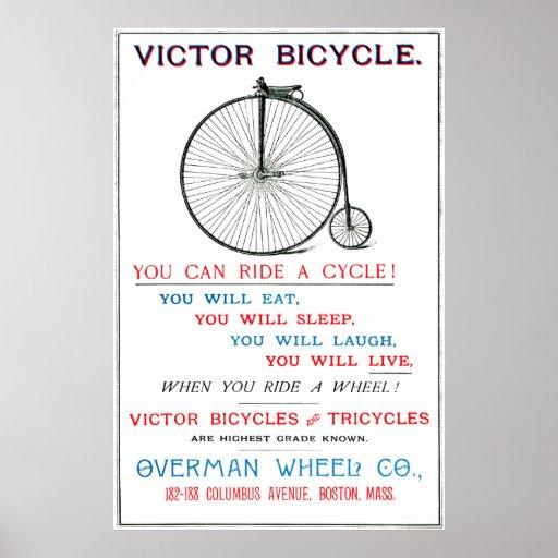 Poster de 1880 bicicletas