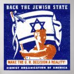 Poster de 1947 sionistas